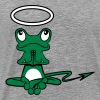 Frog Angel Devil Halo Devil tail - Men's Premium T-Shirt