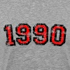 Year 1990 Birthday Design Vintage Anniversary - Men's Premium T-Shirt