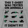 T-SHIRT tested on Animals - Didn't Fit - Koszulka męska Premium