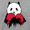 panda boxer glove boxing - Men's Premium T-Shirt