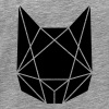 Abstract cat - Men's Premium T-Shirt