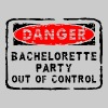 Bachelorette Party Out Of Control - Men's Premium T-Shirt