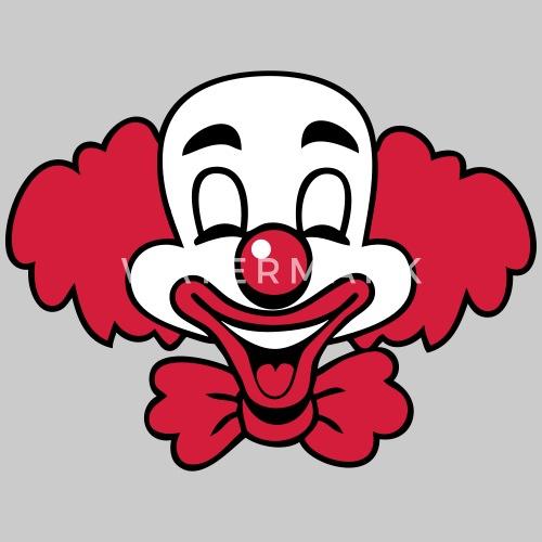 chemise Hauts WhiteT retour Clown rire Drôle homme Wellcoda qwRnC7pxO