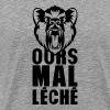 ours mal leche expression citation 0 - T-shirt Premium Homme
