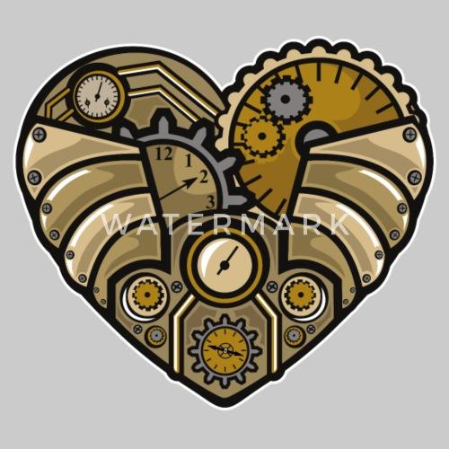 Coeur Steampunk coeur steampunk t-shirt premium homme | spreadshirt