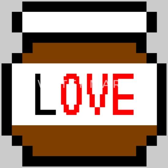 Idee De Cadeau D Amour De Pixel De Chocolat Nourriture Savoureuse T Shirt Premium Homme Spreadshirt