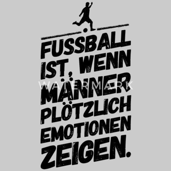 Fussball Lustige Coole Spruche Emotion Manner Premium T Shirt