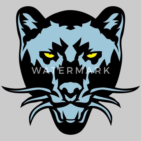 Black Panther Drawing Wild Animal Logo Men S Premium T Shirt Spreadshirt