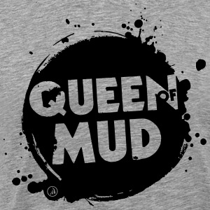 Queen of Mud - Premium-T-shirt herr