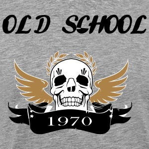 Old school1970 - Men's Premium T-Shirt