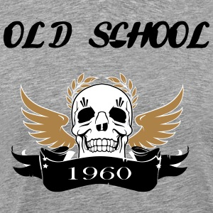 Old school1960 - Men's Premium T-Shirt