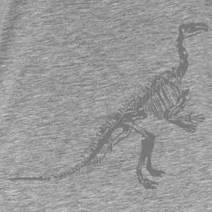 Dinosaur skeleton for hipstere og studenter - Premium T-skjorte for menn