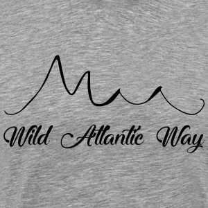 Wild Atlantic Way, Irland - Männer Premium T-Shirt