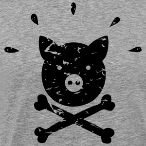 Pirate piggy - Men's Premium T-Shirt