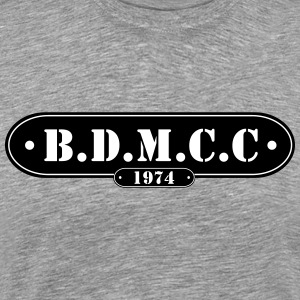 BDMCC Bar Badge - Herre premium T-shirt