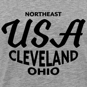 Northeast USA Cleveland Ohio - CLEVELAND SHIRTS - Men's Premium T-Shirt