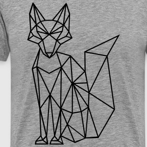 Fox | Fox | polygons - Men's Premium T-Shirt