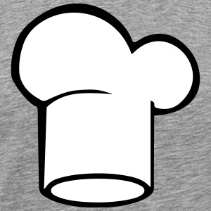 Kokkens Hat Chef er Hat Cooking Kitchen 2c - Premium T-skjorte for menn