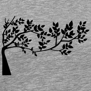 Branch silhouette - Men's Premium T-Shirt