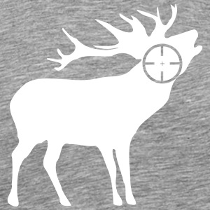 Deer Hunting Hunter 2c - Men's Premium T-Shirt