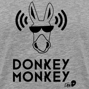 Donkey Monkey - Men's Premium T-Shirt