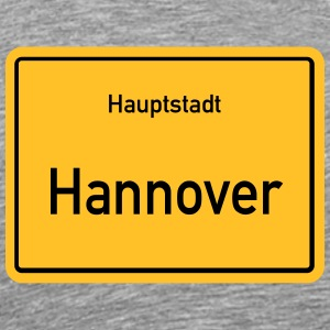 City of Hannover - Herre premium T-shirt