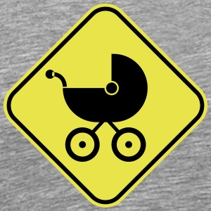 Warning: Dangerous Stroller - Men's Premium T-Shirt