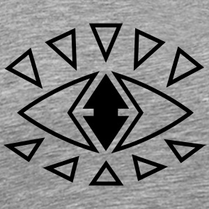 Grafik Eye - Männer Premium T-Shirt