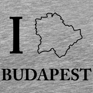 I Love Budapest Hungary Capital Hungary Shirt - Men's Premium T-Shirt