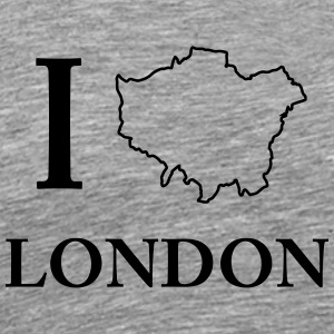 I love ich liebe London United Kingdom Shirt - Männer Premium T-Shirt