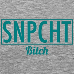 Snapchat bitch - Men's Premium T-Shirt