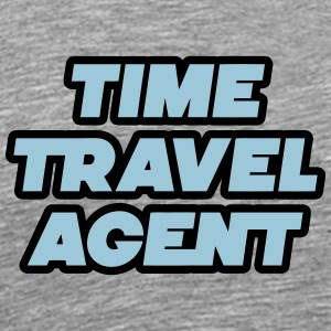Time Travel Agent - Reisebyrå tid - Premium T-skjorte for menn