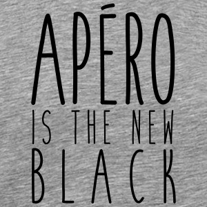 Apéro is the new black - T-shirt Premium Homme
