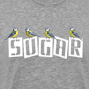 Sugar Blue tits - Men's Premium T-Shirt