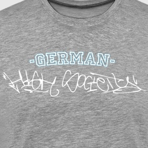 Germany high society / Tell me your Hood - Männer Premium T-Shirt