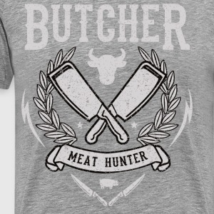 Butcher - Meat Hunter - Männer Premium T-Shirt