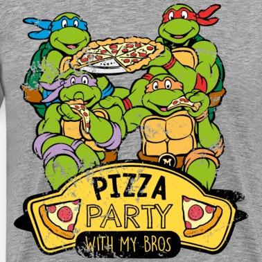 Tmnt Turtles Ninja Diet Pizza Männer Vintage T Shirt Spreadshirt