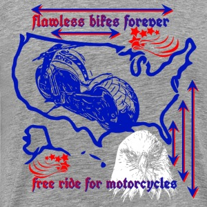 Flawless bikes forever Motorcycle collection - Men's Premium T-Shirt