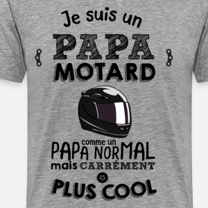 Papa motard carrément plus cool