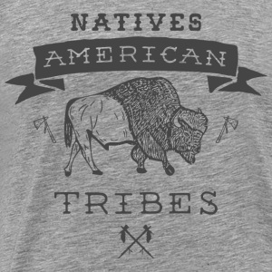Tribes of the American Indians - Men's Premium T-Shirt