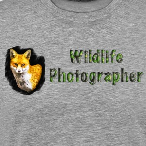 Wildlife Photographer Fox - Premium-T-shirt herr