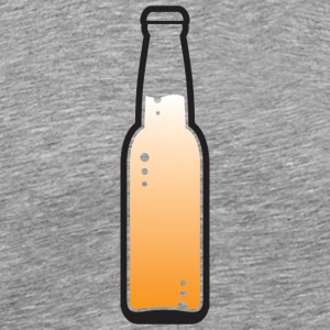A Beer Bottle. Lets Get Drunk! - Men's Premium T-Shirt