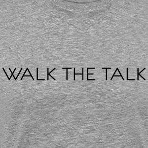 walkthetalk - Herre premium T-shirt