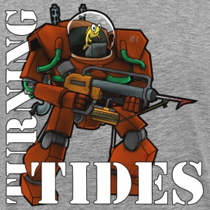 Turning Tides - Premium-T-shirt herr