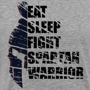 Spartan Warrior - Premium T-skjorte for menn