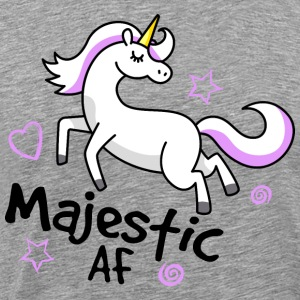 Majestic AF Unicorn - Men's Premium T-Shirt
