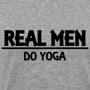 Real men do yoga