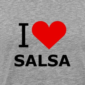 I Love Salsa Shirt - DanceShirts - Men's Premium T-Shirt