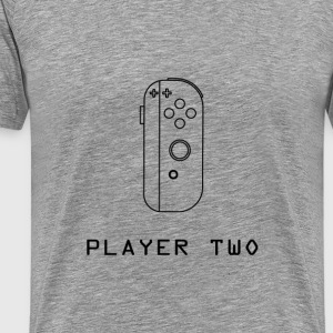 ¿Klar PLayer Two? - Premium T-skjorte for menn