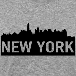 NEW YORK - Premium T-skjorte for menn
